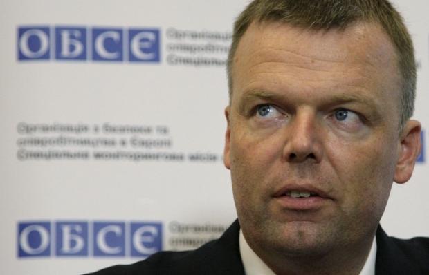 В ОБСЄ пояснили інцидент з ГРУшником у складі місії на Донбасі