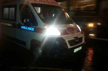 Вечірнє ДТП у Франківську: водій втік, є постраждалий