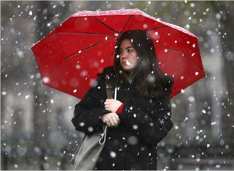 На сьогодні синоптики обіцяють на Прикарпатті дощі, у Карпатах – з мокрим снігом