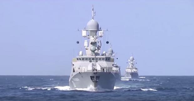 Росія завдала ракетних ударів з кораблів по району падіння Су-24 – Reuters