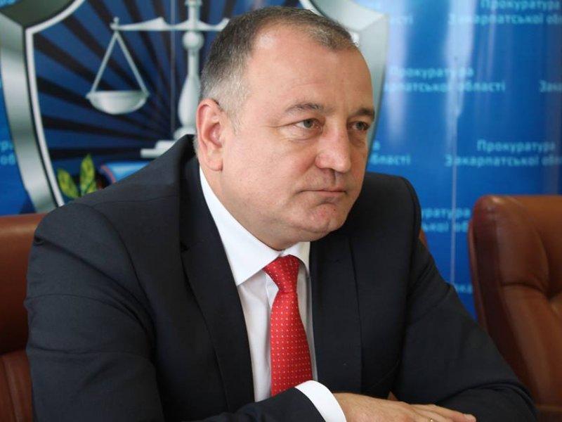 Закарпатського прокурора «почистили» в Івано-Франківську