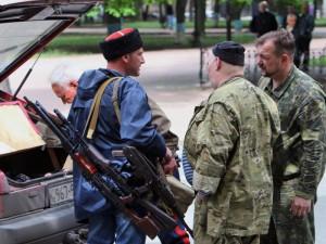 Блокада Криму: активісти затримали терориста з банди «козаків»