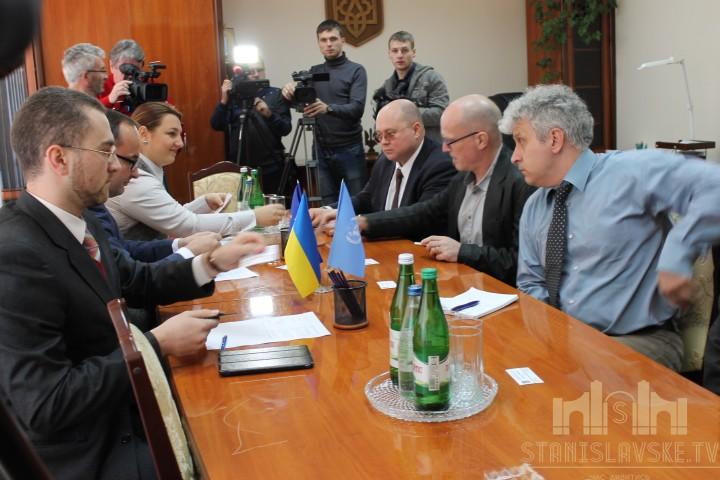 Глава ПРООН в Україні занепокоєний екологічною ситуацією у Калуші