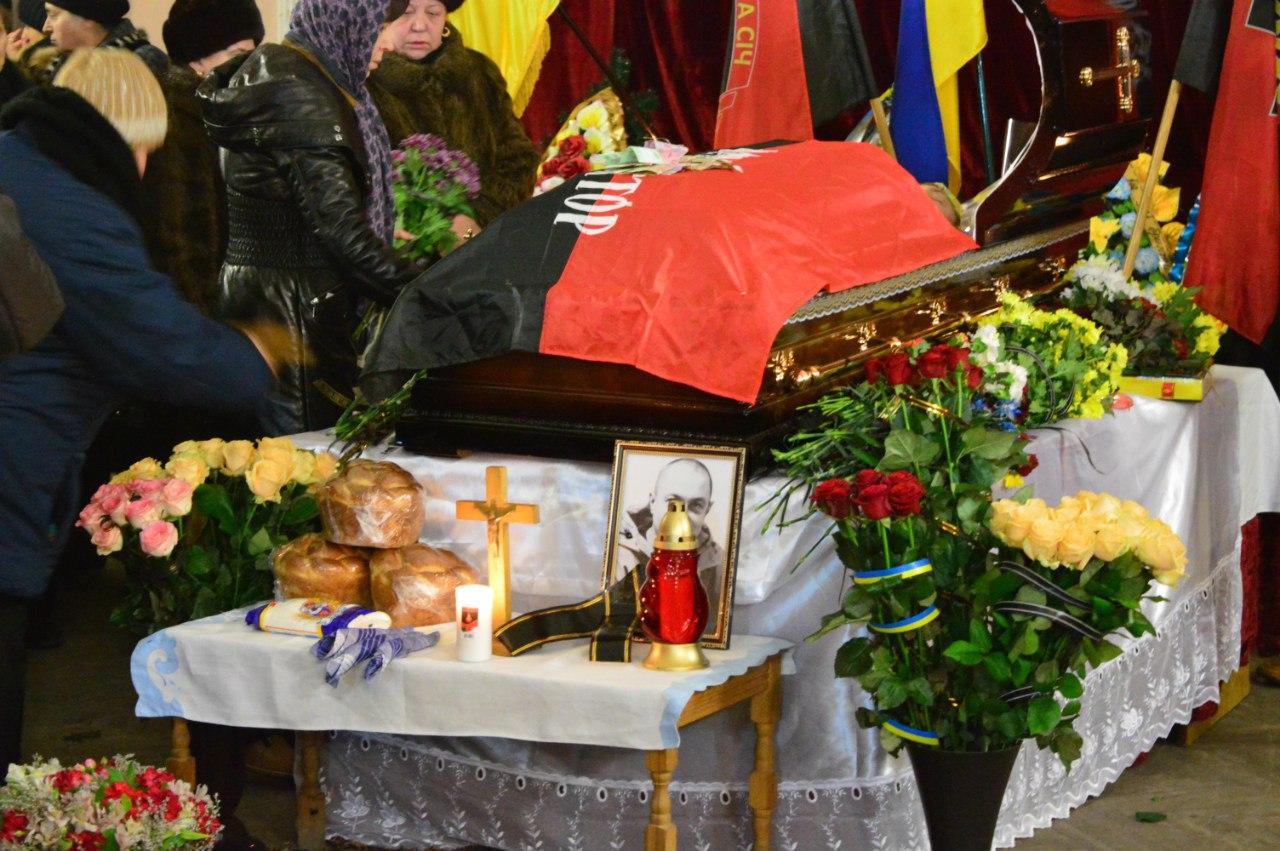 В Івано-Франківську прощаються із загиблим добровольцем ДУК ПС Григорієм Семенишиним (фото)