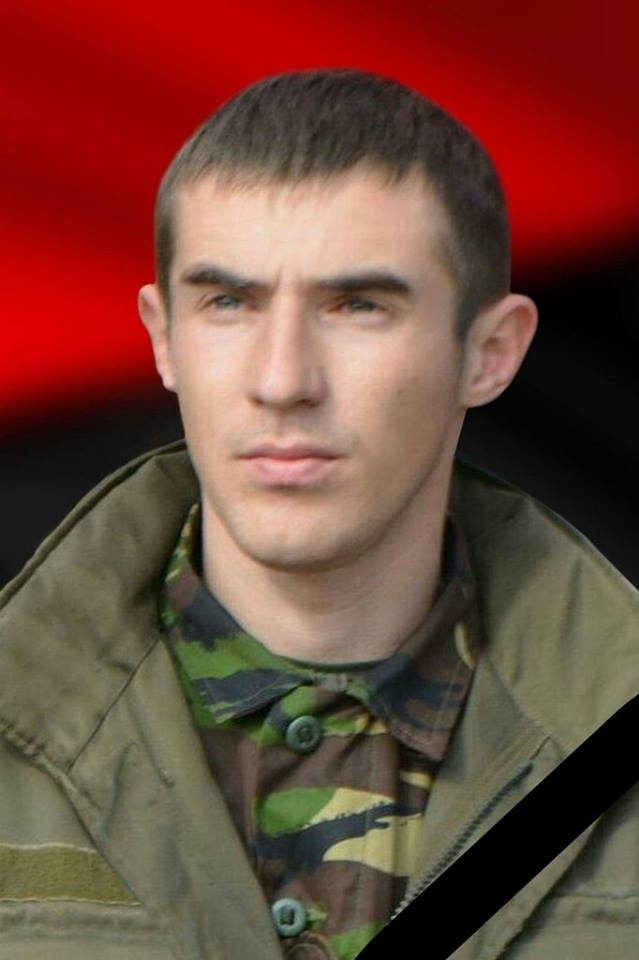 На Прикарпатті поховали трагічно загиблого напередодні активіста «Правого сектору» (фото)