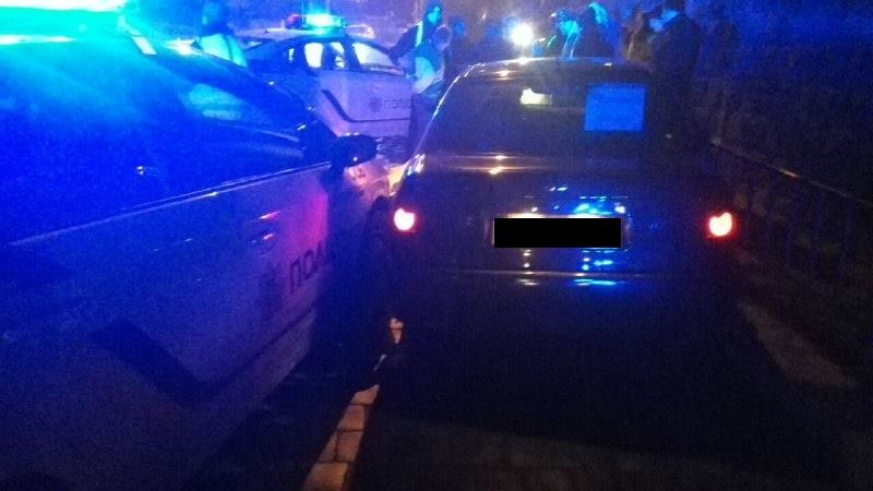 """У Франківську п'яний водій тікав від поліцейських, """"бо дуже їх боїться"""" (відео)"""