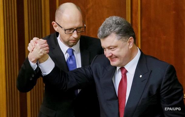 Яценюк закинув Порошенкові ідею про новий Кабмін