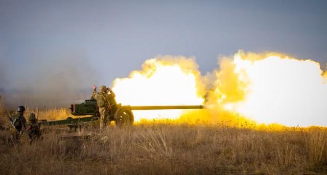 Коломийська Десята Гірсько-Штурмова Бригада проводить навчання артилеристів (фото)