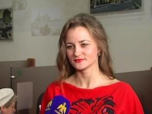 Франківська акторка вчила майбутніх вчителів, як правильно говорити