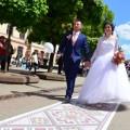 На День міста в Івано-Франківську розстелять 50-метровий весільний рушник
