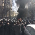 """""""Автомайдан"""" відхрестився від активістів, що палять шини! Тоді чиє замовлення виконував """"Хімік""""?"""