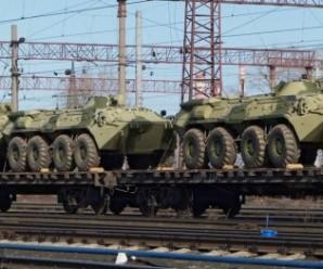 На Донбас прибули нові ешелони військової техніки з РФ