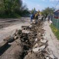 У Надвірній розпочали капітальний ремонт однієї з вулиць (ФОТО)