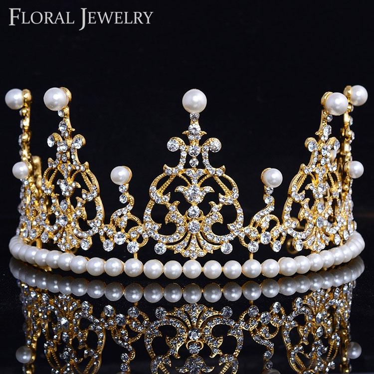 זהב-נסיכת-תמלוגים-מלכות-כתר-גביש-נזר-חתונת-הכלה-שושבין-בגימור-אבזרים-לשיער-לנשים-HG050