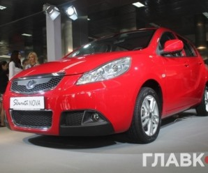 ЗАЗ презентував перший українсько-китайський автомобіль