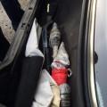 У Франківську затримали п'яного водія зі зброєю в багажнику