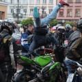 Весняний байкерський зліт пройшовся Івано-Франківськом (ФОТО + ВІДЕО)