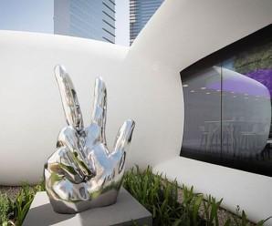 У Дубаї вперше в світі на 3D-принтері надрукували офіси