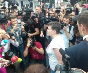 Савченко: Я хочу попросити вибачення у всіх матерів, чиї діти не повернулися