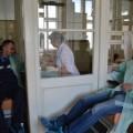 Поліція Франківська здала кров для дітей постраждалих в ДТП