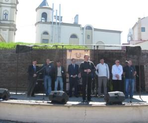 Як у Франківську відкривали свято ковалів (фото + відео)