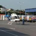 На території івано-франківського гіпермаркету припаркувався…гелікоптер (ФОТО+ВІДЕО)