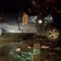Від удару в дерево прикарпатського таксиста викинуло з авта