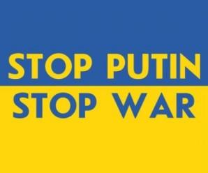 Всесвітнє «Стоп!» для Путіна. Акції в підтримку України