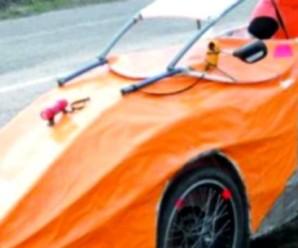 Українець розробив унікальну машину без жодної металевої деталі