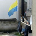 В окупованому Криму вивісили прапор України