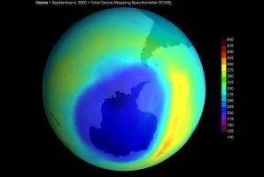 Вчені зафіксували перші ознаки відновлення озонового шару над Антарктидою