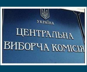 Вибори на Прикарпатті: ЦВК опрацювала майже 50% протоколів – перемагає Шевченко.