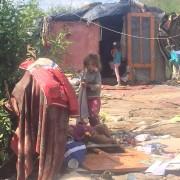 На коломийському сміттєзвалищі мешкають роми, які приїхали на заробітки (ФОТО)