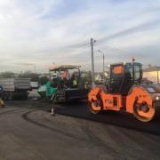 Більше двох кілометрів дороги в місті Рогатині відремонтувала буковелівська фірма ПБС всього за одну ніч