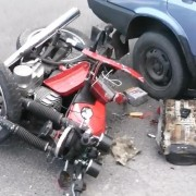 На Франківщині п'яний водій незареєстрованого мотоциклу вчинив ДТП (ФОТОФАКТ)