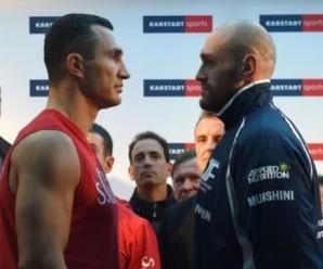 Матч-реванш Кличко і Фьюрі відбудеться 29 жовтня