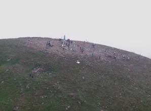 Цікаве відео Говерли з висоти пташиного польоту