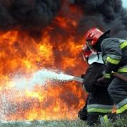 На Прикарпатті згоріло 800 кг пшениці, комбайн та будинок