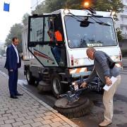 Очільник Івано-Франківська перевірив як прибирають місто