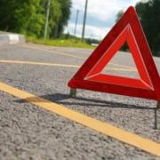На Івано-Франківщині авто злетіло у кювет і перекинулося