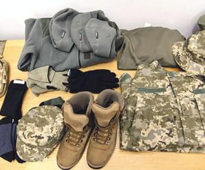 Військовослужбовці забезпечені польовою формою на 100 відсотків