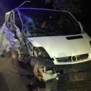 У Коломиї учасник АТО вчинив ДТП: Автівка врізалася в дерево (фото)