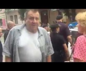 З'явилось повне відео інциденту поліції з бабусею на Галичині (відео)