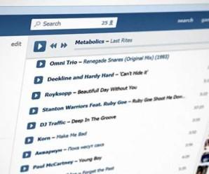 «Вконтакте» заборонила програвати музику в сторонніх музичних програмах