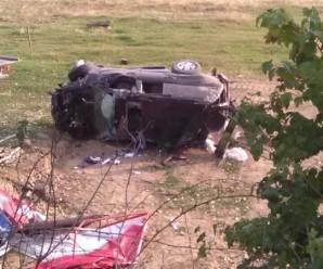 У Косові жахливе ДТП. Позашляховик перекинувся кілька разів (фото)