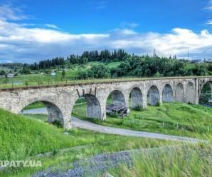 Один з найбільших кам'яних мостів світу знаходиться в Україні