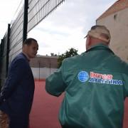 У Франківську відкриють спортивний майданчик з наливним покриттям (ФОТО).