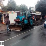 У Франківську почали ремонтувати вулицю Новгородську