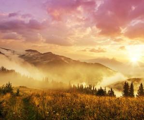 Теплий вересень в Карпатах