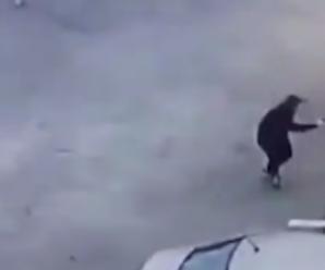 Вбивство у Дніпрі: з'явилося відео з камери розстріляного поліцейського